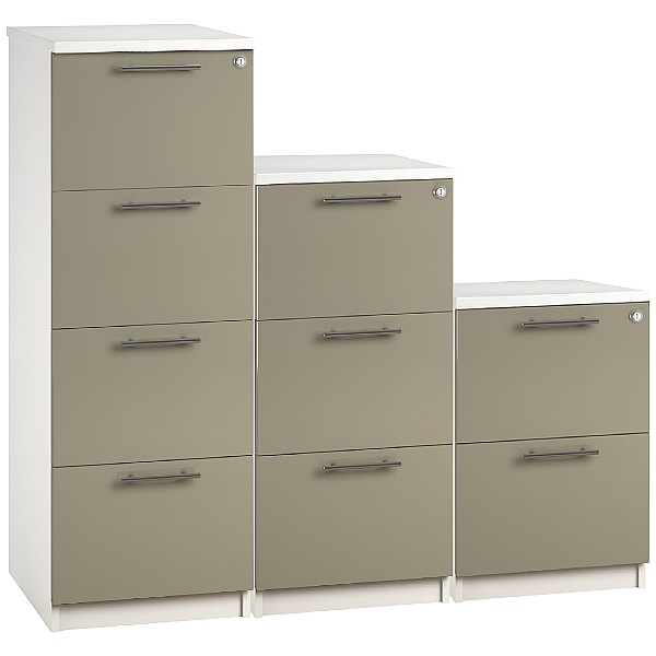 Reflections Stone Grey Filing Cabinets