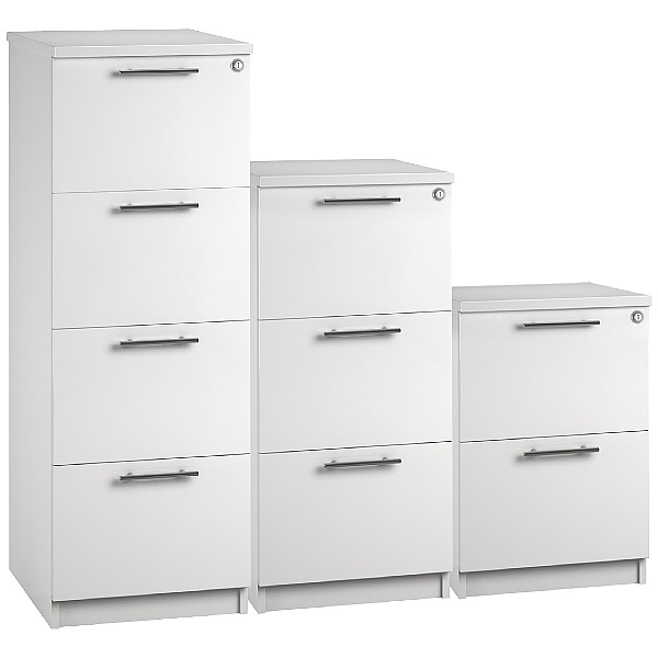Reflections White Filing Cabinets