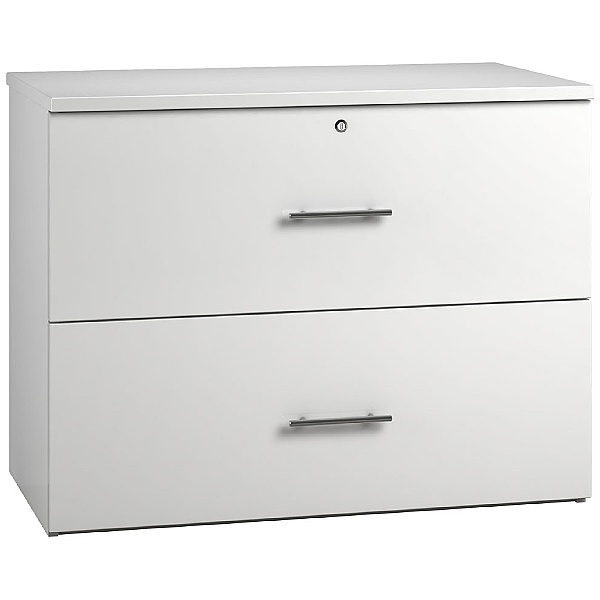 Reflections White Side Filing Cabinets