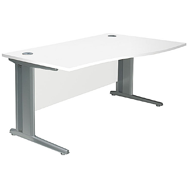 NEXT DAY Distinct Cantilever Wave Desks