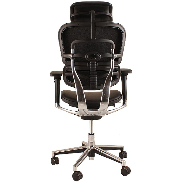 Ergohuman Mesh & Leather Office Chairs (With Headrest)