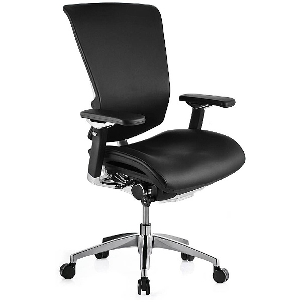 Nefil Ergonomic Leather Office Chair (Without Headrest)
