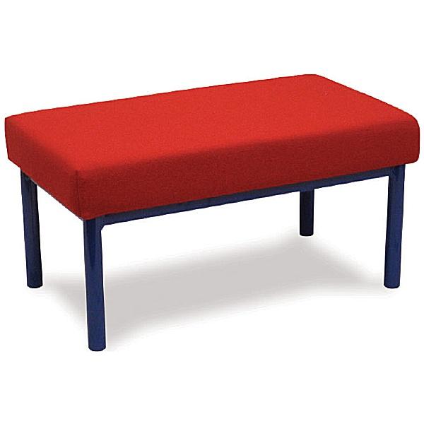 Scholar Children's Upholstered Two Seater Stool