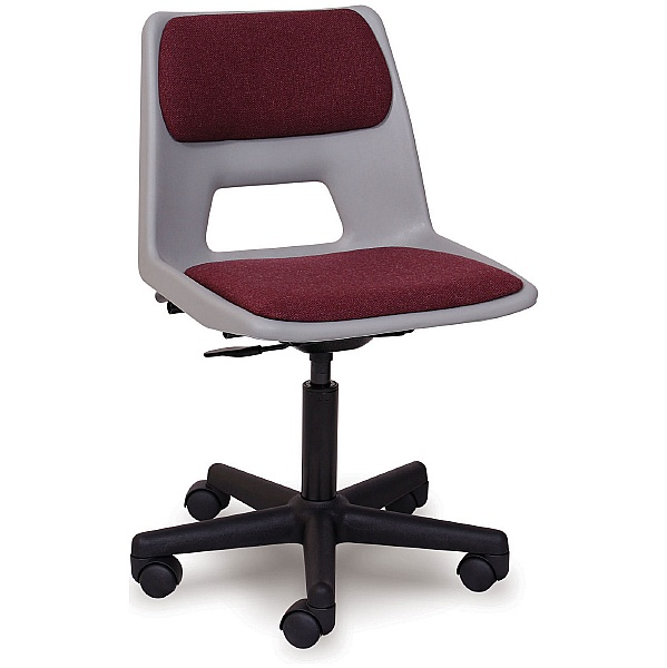 Scholar Mobile Padded Polypropylene Chair