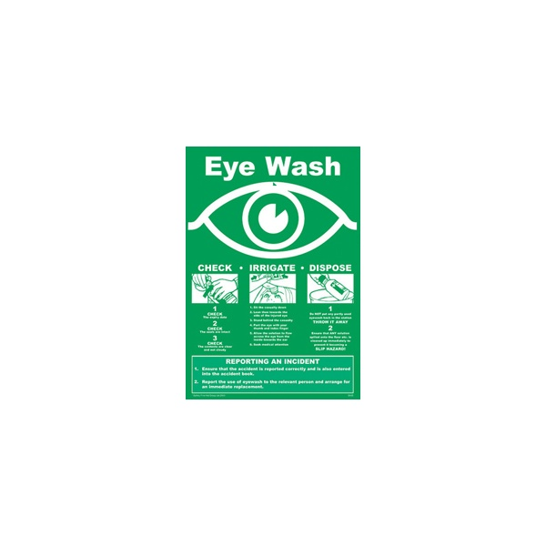 Emergency Eye Care Sign
