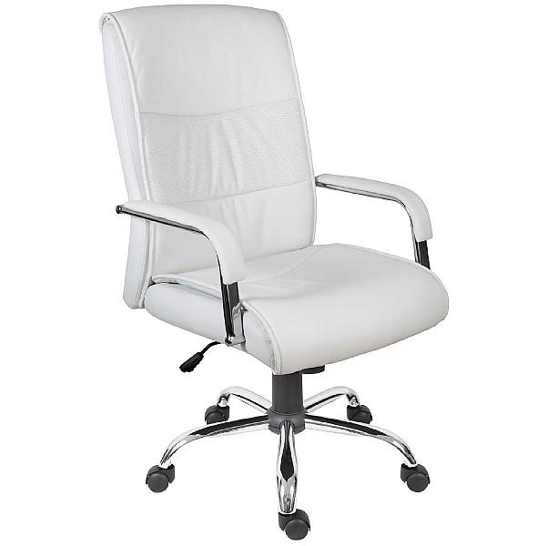 Cumbria Executive Office Chair White