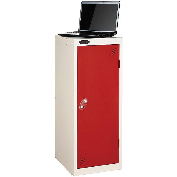 Premium Low Laptop Storage Lockers With ActiveCoat