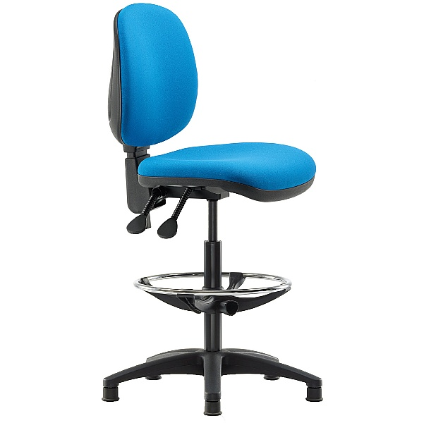 Pledge Two Medium Back Draughtsman Chair