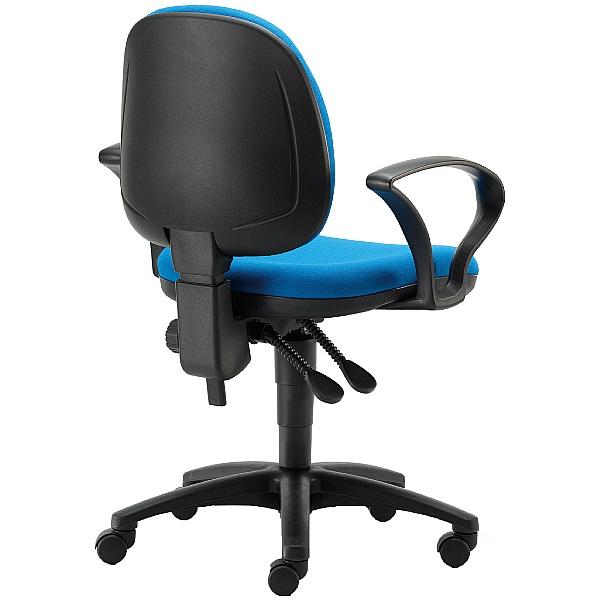 Pledge Two Medium Back Operator Chair