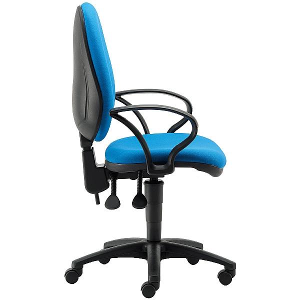 Pledge Two High Back Operator Chair