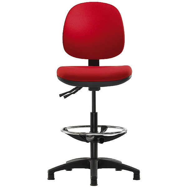 Pledge Topaz Medium Back Draughtsman Chair
