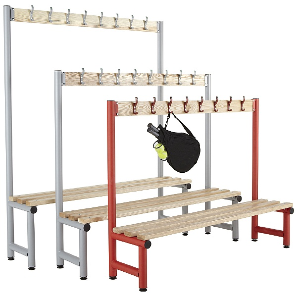 Education Cloakroom Hook Benches With Active Coat