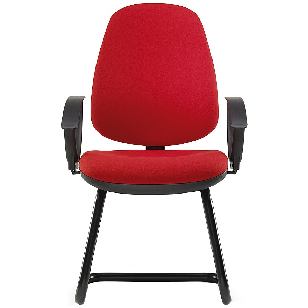 Pledge Topaz High Back Cantilever Visitor Chair