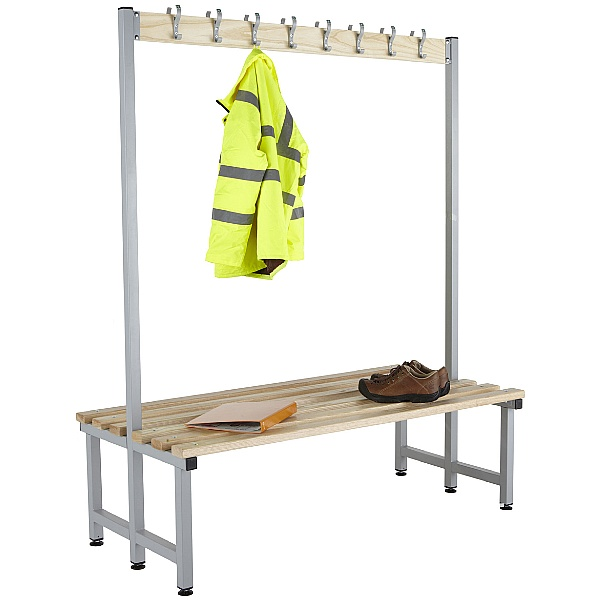 Budget Cloakroom Hook Benches With Active Coat