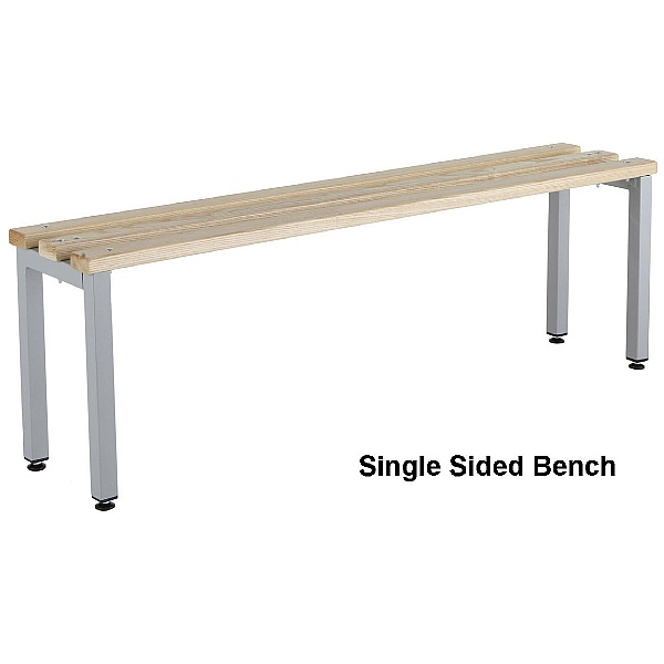 Budget Freestanding Cloakroom Benches With Active Coat