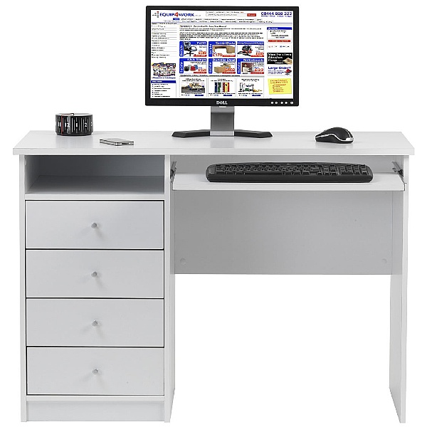 Picasa White Student Desk