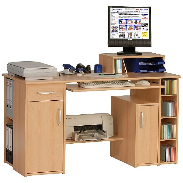 Alaska Computer Desk Beech