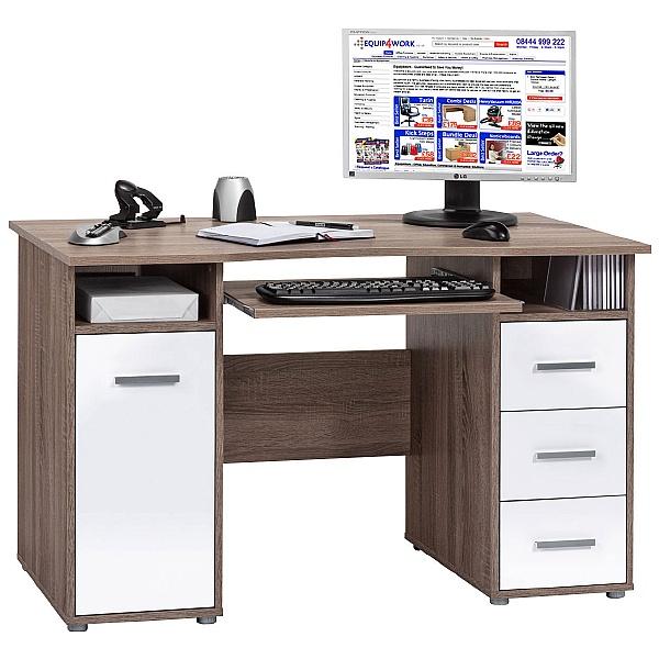 Hampstead Computer Desk Oak