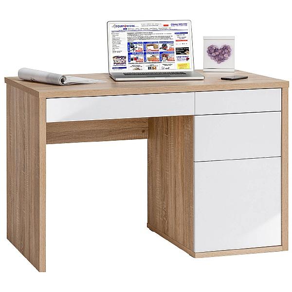 Nordic Laptop Computer Desk Oak