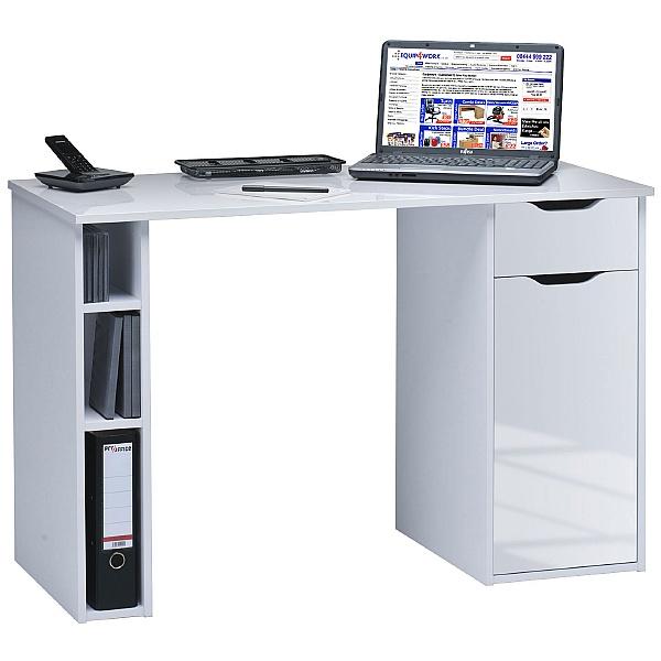 Utah Computer Desk White