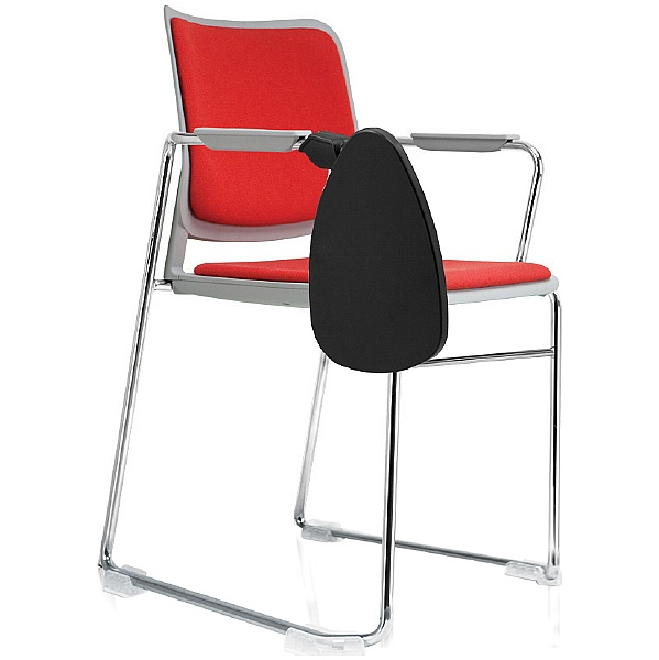 Brad Upholstered Skid Base Visitor Chair