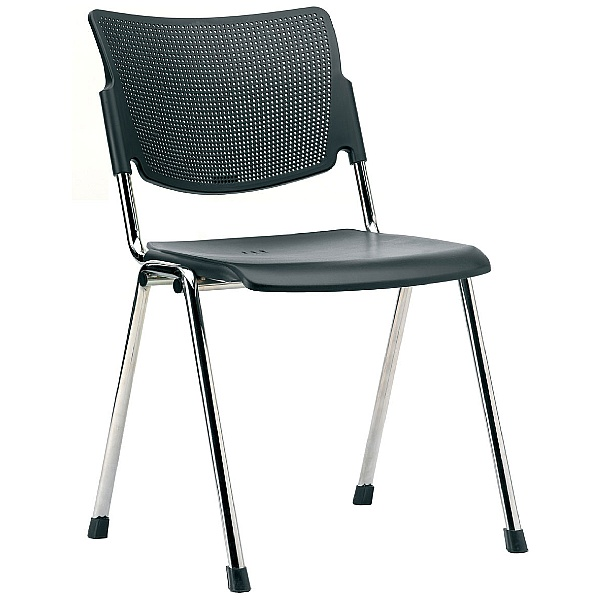 Pledge Mia Polypropylene 4 leg Conference Chair