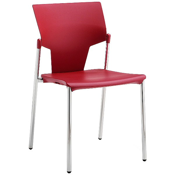 Pledge Ikon Polypropylene 4 Leg Conference Chair