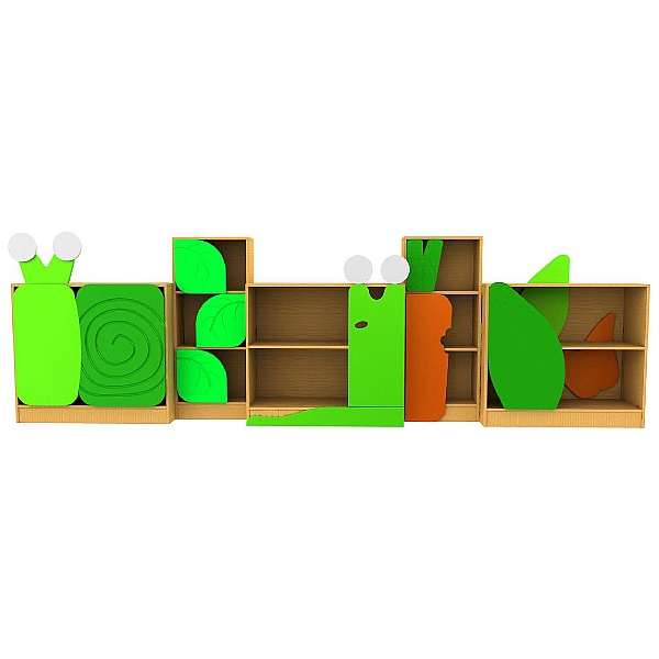 Slug & Snail Tall Leaf Cupboard