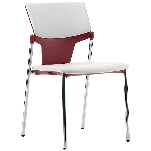Pledge Ikon Upholstered 4 Leg Conference Chair