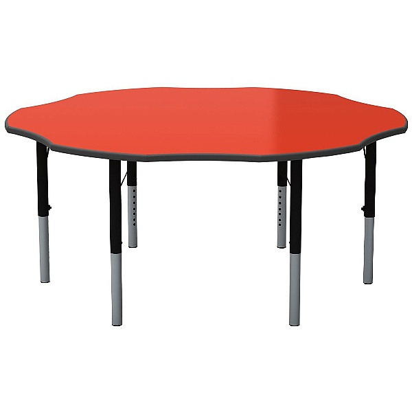 Height Adjustable Flower Primary Theme Tables