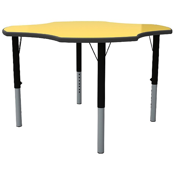 Height Adjustable Clover Primary Theme Tables