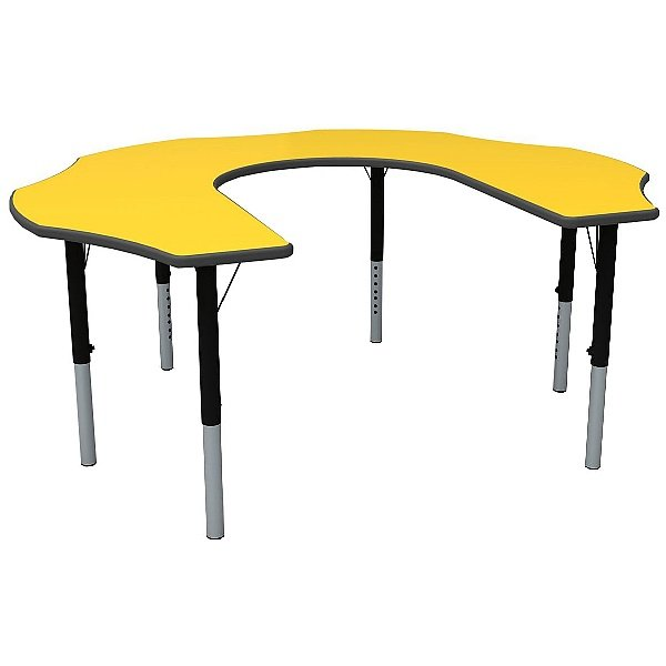 Height Adjustable Teachers Flower Primary Theme Table