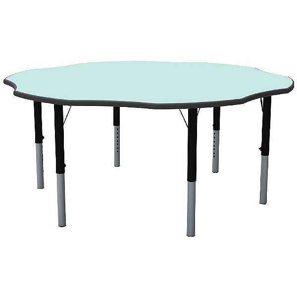 Height Adjustable Flower Pastel Theme Table