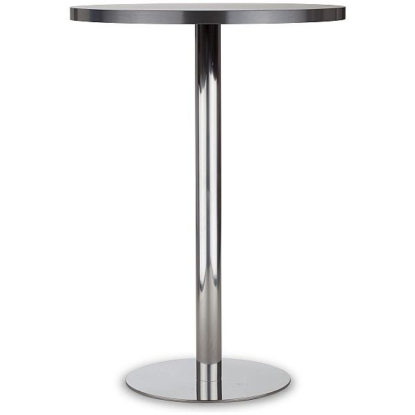 Lara Inox Melamine High Bistro/Bar Table