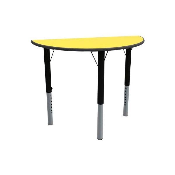 Height Adjustable Semi Circular Tables