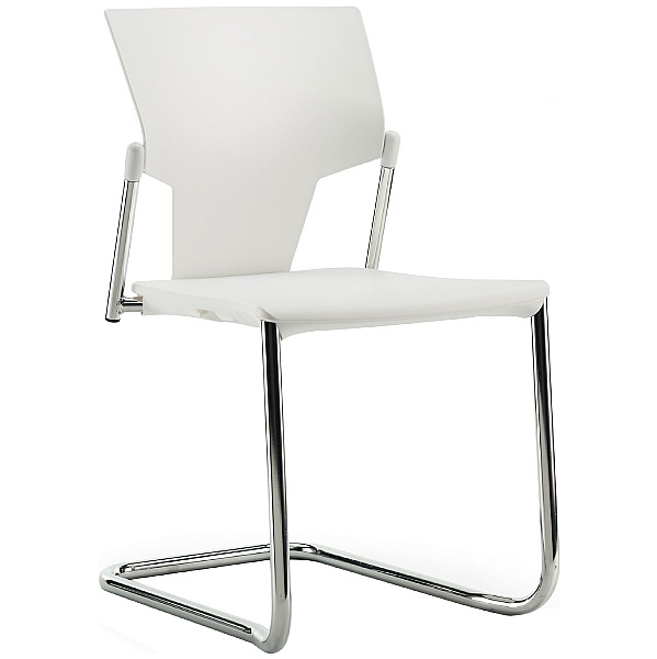 Pledge Ikon Polypropylene Cantilever Conference Chair