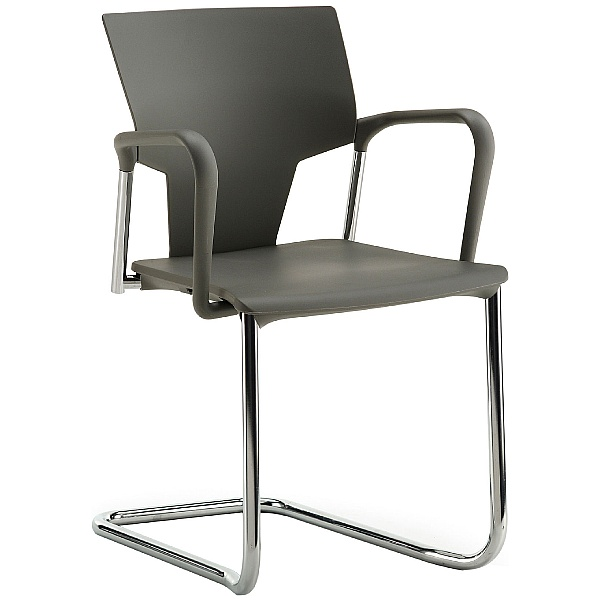 Pledge Ikon Polypropylene Cantilever Conference Armchair