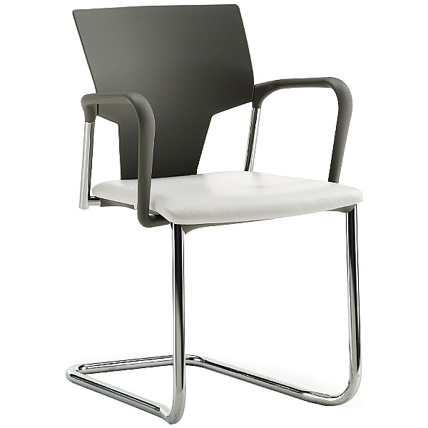 Pledge Ikon Cantilever Conference Armchair