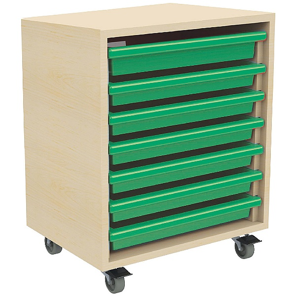 7 Tray Mobile Art & Paper Storage Unit
