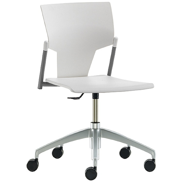 Pledge Ikon Polypropylene Swivel Conference Chair