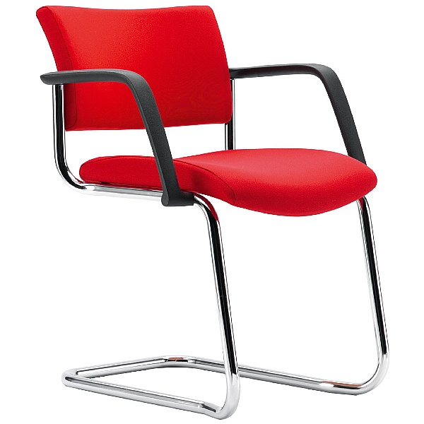 Pledge Arena Square Back Cantilever Conference Chair