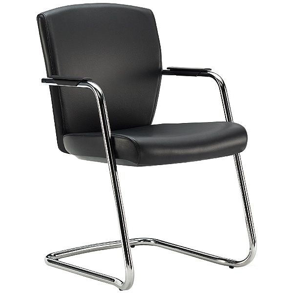 Pledge Key Full Back Stackable Cantilever Conference Chair
