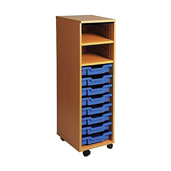 8 Tray Single Bay Storage Unit