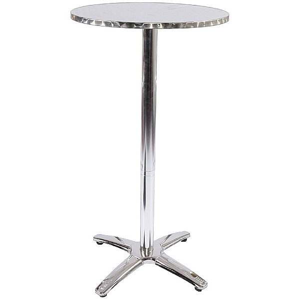 Aluminium Bistro Poseur Table