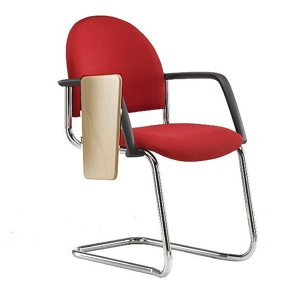 Pledge Arena Rounded Back Stackable Cantilever Conference Chair