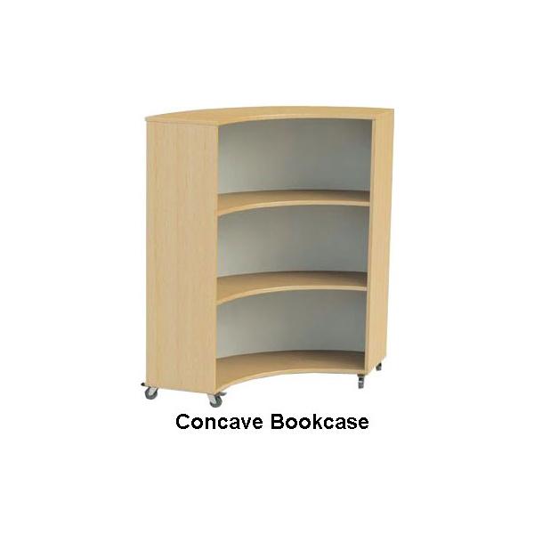 Nexus Curve Bookcases