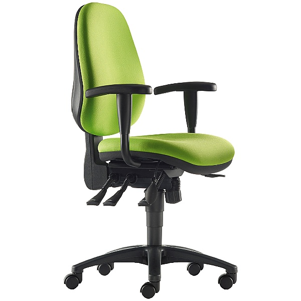 Pledge Solar High Back Custom Task Chair