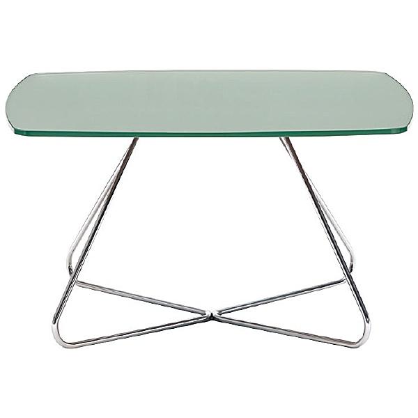 Pledge Spirit Glass Top Table