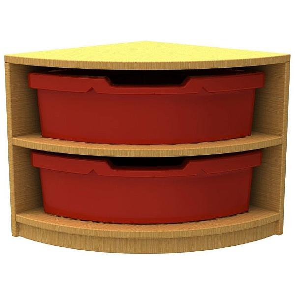 Curve Quarter Storage & Seating