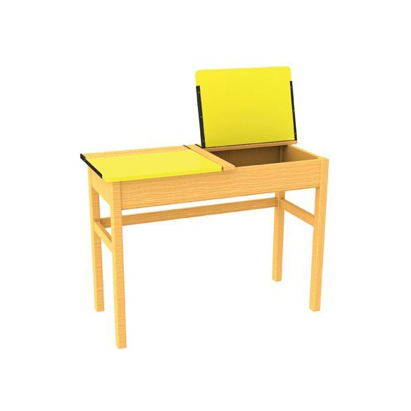 Double Locker Classroom Desks